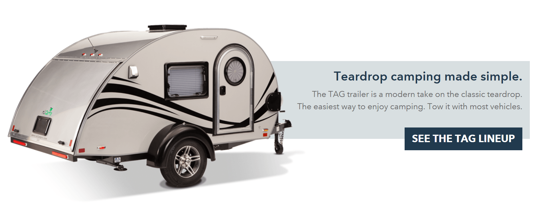 Travel Trailers, Teardrop Trailers, Sales, Rentals, Parts